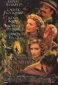 A Midsummer Night´s Dream 1998 poster Christian Bale Michael Hoffman