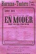 Moderen 1913 Movie poster Betty Nansen