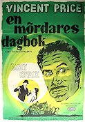 Diary of a Madman 1963 Movie poster Vincent Price
