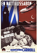 One Night in Lisbon 1941 poster Fred MacMurray Edward H Griffith