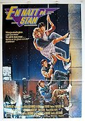 Adventures in Babysitting 1987 Movie poster Keith Coogan