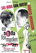 En nolla f�r mycket 1962 Movie poster Lill-Babs