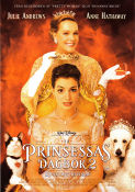 En prinsessas dagbok 2 2004 Movie poster Julie Andrews