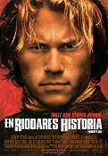 A Knight's Tale 2001 poster Heath Ledger Brian Helgeland