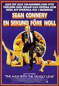 Man with the Deadly Lens 1982 poster Sean Connery