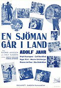 En sj�man g�r iland 1940 Movie poster Adolf Jahr