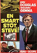 En smart stöt Steve 1973 Movie poster Kirk Douglas