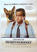 K-9 1988 Movie poster James Belushi