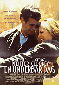One Fine Day 1996 Movie poster Michelle Pfeiffer