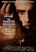 Interview with the Vampire 1994 poster Brad Pitt Neil Jordan