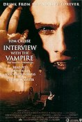 Interview with the Vampire 1994 Movie poster Brad Pitt