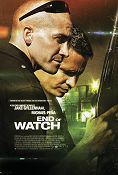 End of Watch 2012 poster Jake Gyllenhaal David Ayer