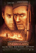 Enemy at the Gates 2001 Movie poster Jude Law