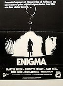 Enigma 1984 poster Martin Sheen