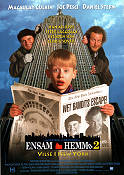 Home Alone 2 1992 Movie poster Macaulay Culkin Chris Columbus