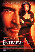 Entrapment 1999 Movie poster Sean Connery Jon Amiel