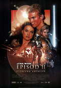 Episode II Attack of the Clones 2002 poster Ewan McGregor