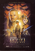 Episode I The Phantom Menace 1999 poster Liam Neeson George Lucas