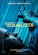 Equalizer 2014 poster Denzel Washington Antoine Fuqua