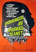 The Conquest of the Planet of the Apes 1972 Movie poster Roddy McDowall