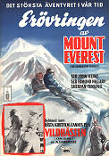 The Conquest of Everest 1953 Movie poster Edmund Hillary
