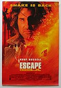 Escape From LA 1996 poster Kurt Russell