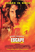 Escape From LA 1996 poster Kurt Russell John Carpenter