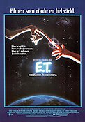 E.T. the Extra-Terrestrial 1982 Movie poster Dee Wallace Steven Spielberg