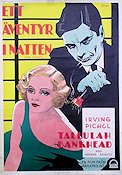 The Cheat 1931 poster Tallulah Bankhead