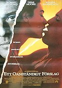 Indecent Proposal 1993 Movie poster Robert Redford