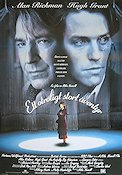 An Awfully Big Adventure 1995 Movie poster Alan Rickman