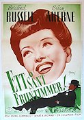 What a Woman 1944 poster Rosalind Russell