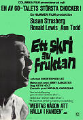 Taste of Fear 1961 Movie poster Susan Strasberg
