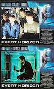 Event Horizon 1997 lobby card set Laurence Fishburne