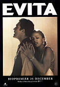 Evita 1996 movie poster Madonna Alan Parker