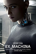 Ex Machina 2014 poster Alicia Vikander