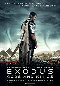 Exodus Gods and Kings 2014 poster Christian Bale Ridley Scott
