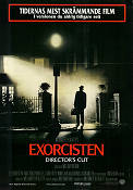 The Exorcist Directors Cut 1974 poster Jason Miller William Friedkin