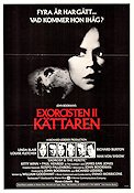 Exorcist II: The Heretic 1978 John Boorman Linda Blair Richard Burton Max von Sydow