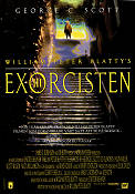 The Exorcist 3 1990 Movie poster George C Scott