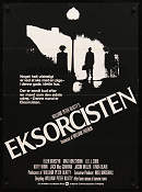 The Exorcist 1974 poster Jason Miller William Friedkin