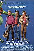 Explorers 1985 Movie poster Ethan Hawke Joe Dante