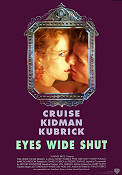 Eyes Wide Shut 1999 Movie poster Tom Cruise Stanley Kubrick
