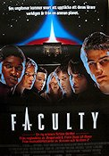 The Faculty 1997 Movie poster Salma Hayek Robert Rodriguez