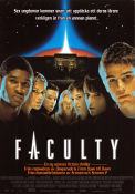 The Faculty 1998 Movie poster Jordana Brewster Robert Rodriguez