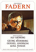 Fadern 1969 movie poster Georg Rydeberg Alf Sjöberg