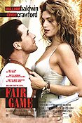 Fair Game 1995 Movie poster Cindy Crawford