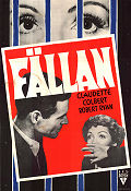 The Secret Fury 1950 poster Claudette Colbert Mel Ferrer