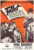 Fallet Birte 1945 Movie poster Poul Reumert Lau Lauritzen
