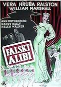 Murder in the Music Hall 1947 Movie poster Vera Ralston